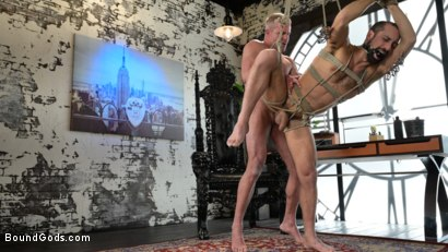 Photo number 19 from The Savage Company Ltd: Dale Savage Punishes Employee, DJ shot for Bound Gods on Kink.com. Featuring Dale Savage and DJ in hardcore BDSM & Fetish porn.