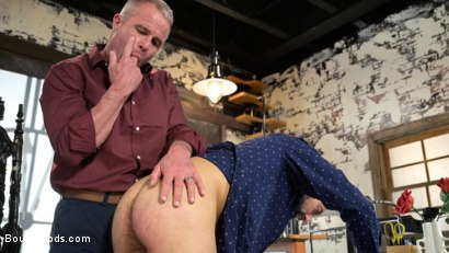 Photo number 3 from The Savage Company Ltd: Dale Savage Punishes Employee, DJ shot for Bound Gods on Kink.com. Featuring Dale Savage and DJ in hardcore BDSM & Fetish porn.
