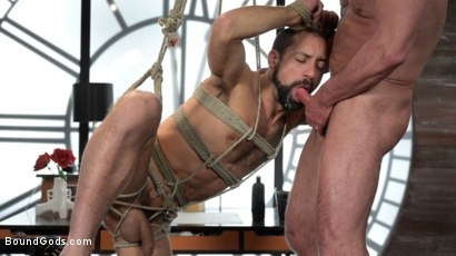 Photo number 21 from The Savage Company Ltd: Dale Savage Punishes Employee, DJ shot for Bound Gods on Kink.com. Featuring Dale Savage and DJ in hardcore BDSM & Fetish porn.