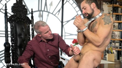 Photo number 22 from The Savage Company Ltd: Dale Savage Punishes Employee, DJ shot for Bound Gods on Kink.com. Featuring Dale Savage and DJ in hardcore BDSM & Fetish porn.