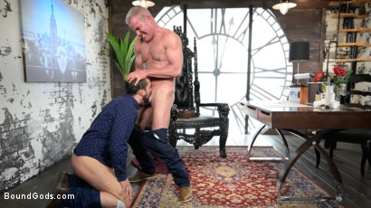 Photo number 6 from The Savage Company Ltd: Dale Savage Punishes Employee, DJ shot for Bound Gods on Kink.com. Featuring Dale Savage and DJ in hardcore BDSM & Fetish porn.