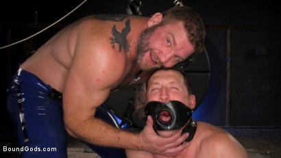 The Emasculation of Pierce Paris: Daddy Colby Jansen Stuffs Pierce RAW
