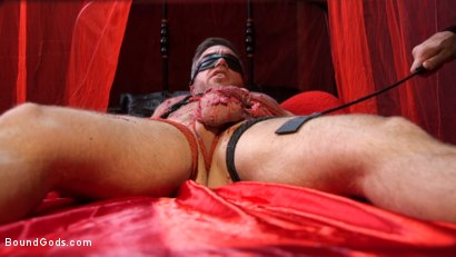 Photo number 11 from Bound Valentine: Alex Mecum Covered in Wax, Suspended, Pumped, Fucked shot for Bound Gods on Kink.com. Featuring Ricky Larkin and Alex Mecum in hardcore BDSM & Fetish porn.