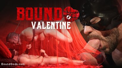 Bound Valentine: Alex Mecum Covered in Wax, Suspended, Pumped, Fucked