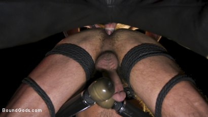 Photo number 10 from Power Fuck: Hot Leather Men Inflict Muscle Domination & Intense Pain shot for Bound Gods on Kink.com. Featuring Marco Napoli and Dale Savage in hardcore BDSM & Fetish porn.