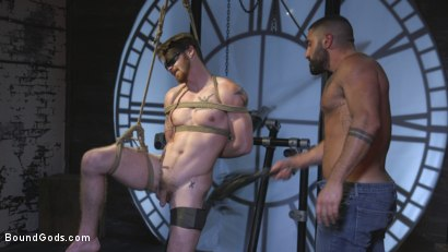 Photo number 10 from Cheating Slut: Nick Milani Submits to Sharok and His Hard Cock shot for Bound Gods on Kink.com. Featuring Sharok and Nick Milani in hardcore BDSM & Fetish porn.