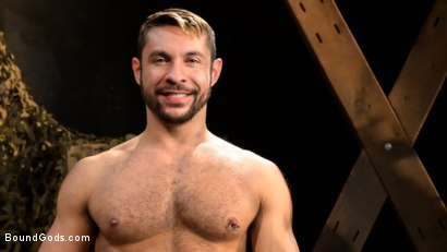 Photo number 14 from Stocked and Cocked: Seth Santoro Beaten and Fucked in a Stockade shot for Bound Gods on Kink.com. Featuring Sebastian Keys, Seth Santoro and Brian Bonds in hardcore BDSM & Fetish porn.