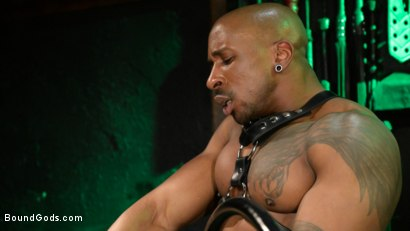 Photo number 25 from Yes, Sir: Jon Darra Submits to Muscle-Stud, Max Konnor shot for Bound Gods on Kink.com. Featuring Max Konnor and Jon Darra in hardcore BDSM & Fetish porn.