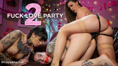 Fuck Love Party 2: Leigh Raven and Chanel Preston Devour Nikki Hearts