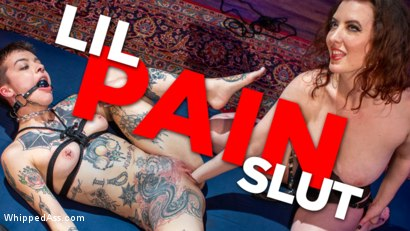 Lil Pain Slut: Cherry Torn Tests Lil Spittle's Need For Erotic Torment