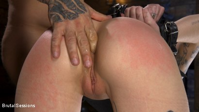 Photo number 13 from Pure Hell: Charlotte Sartre Viciously Used and Anally Fucked shot for Brutal Sessions on Kink.com. Featuring Derrick Pierce and Charlotte Sartre in hardcore BDSM & Fetish porn.