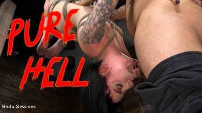 Pure Hell: Charlotte Sartre Viciously Used and Anally Fucked