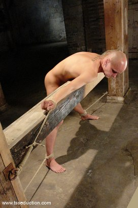 Photo number 5 from Chad Rock and Jesse shot for TS Seduction on Kink.com. Featuring Jesse and Chad Rock in hardcore BDSM & Fetish porn.