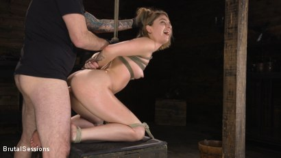 Photo number 18 from Kristen Scott: Bondage Slut Powerfucked Into Massive Twitching Orgasms shot for Brutal Sessions on Kink.com. Featuring Kristen Scott and Tommy Pistol in hardcore BDSM & Fetish porn.