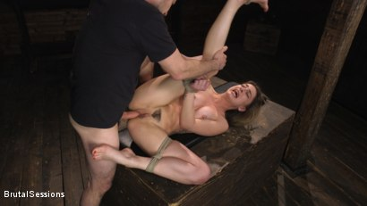 Photo number 26 from Kristen Scott: Bondage Slut Powerfucked Into Massive Twitching Orgasms shot for Brutal Sessions on Kink.com. Featuring Kristen Scott and Tommy Pistol in hardcore BDSM & Fetish porn.