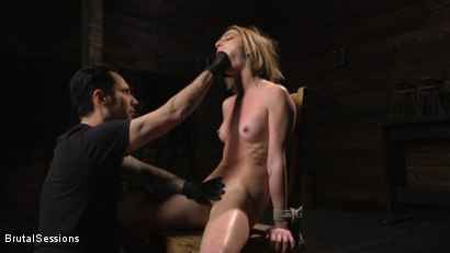 Photo number 3 from Kristen Scott: Bondage Slut Powerfucked Into Massive Twitching Orgasms shot for Brutal Sessions on Kink.com. Featuring Kristen Scott and Tommy Pistol in hardcore BDSM & Fetish porn.