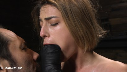 Photo number 4 from Kristen Scott: Bondage Slut Powerfucked Into Massive Twitching Orgasms shot for Brutal Sessions on Kink.com. Featuring Kristen Scott and Tommy Pistol in hardcore BDSM & Fetish porn.
