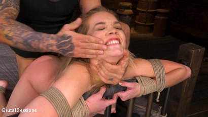 Photo number 13 from Katie Kush: Brat Submission shot for Brutal Sessions on Kink.com. Featuring Derrick Pierce and Katie Kush in hardcore BDSM & Fetish porn.
