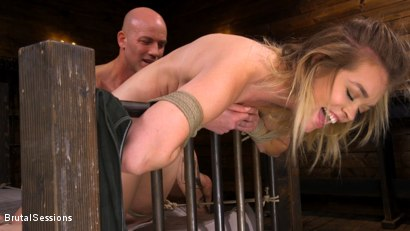 Photo number 14 from Katie Kush: Brat Submission shot for Brutal Sessions on Kink.com. Featuring Derrick Pierce and Katie Kush in hardcore BDSM & Fetish porn.