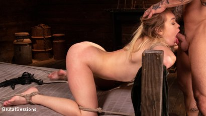 Photo number 15 from Katie Kush: Brat Submission shot for Brutal Sessions on Kink.com. Featuring Derrick Pierce and Katie Kush in hardcore BDSM & Fetish porn.