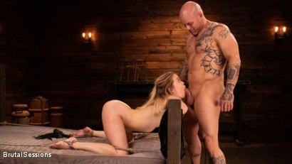 Photo number 16 from Katie Kush: Brat Submission shot for Brutal Sessions on Kink.com. Featuring Derrick Pierce and Katie Kush in hardcore BDSM & Fetish porn.