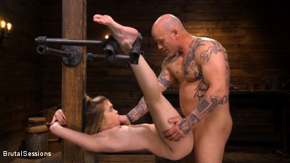 Photo number 19 from Katie Kush: Brat Submission shot for Brutal Sessions on Kink.com. Featuring Derrick Pierce and Katie Kush in hardcore BDSM & Fetish porn.