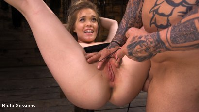 Photo number 24 from Katie Kush: Brat Submission shot for Brutal Sessions on Kink.com. Featuring Derrick Pierce and Katie Kush in hardcore BDSM & Fetish porn.