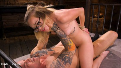 Photo number 29 from Katie Kush: Brat Submission shot for Brutal Sessions on Kink.com. Featuring Derrick Pierce and Katie Kush in hardcore BDSM & Fetish porn.