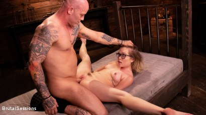 Photo number 31 from Katie Kush: Brat Submission shot for Brutal Sessions on Kink.com. Featuring Derrick Pierce and Katie Kush in hardcore BDSM & Fetish porn.