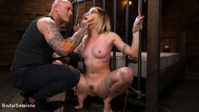 Photo number 5 from Katie Kush: Brat Submission shot for Brutal Sessions on Kink.com. Featuring Derrick Pierce and Katie Kush in hardcore BDSM & Fetish porn.
