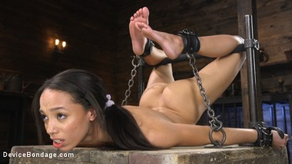 Photo number 7 from Alexis Tae: Exploring The Dark Side of Porn shot for Device Bondage on Kink.com. Featuring Alexis Tae in hardcore BDSM & Fetish porn.