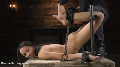 Photo number 9 from Alexis Tae: Exploring The Dark Side of Porn shot for Device Bondage on Kink.com. Featuring Alexis Tae in hardcore BDSM & Fetish porn.