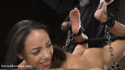 Photo number 10 from Alexis Tae: Exploring The Dark Side of Porn shot for Device Bondage on Kink.com. Featuring Alexis Tae in hardcore BDSM & Fetish porn.