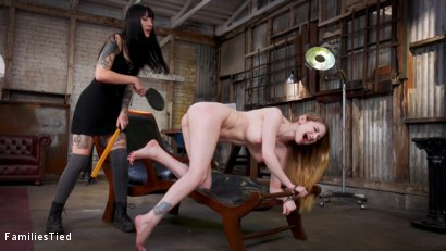 Photo number 2 from FBI Agents Lesbian Step-Sister Blows The Case For Hot Hacker Pussy shot for  on Kink.com. Featuring Seth Gamble, Bunny Colby  and Charlotte Sartre in hardcore BDSM & Fetish porn.