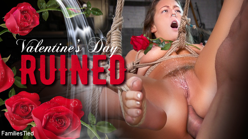 Families Tied - Valentine's Day Ruined by Squirting Step-Sister's Anal Con Job