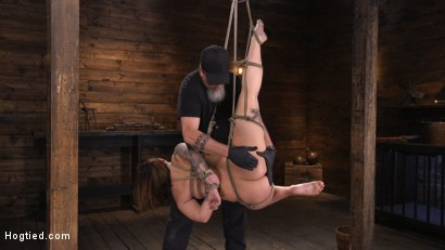 Photo number 11 from Ivy LeBelle: Curvy Slut in Bondage Tormented and Made to Cum shot for Hogtied on Kink.com. Featuring Ivy LeBelle in hardcore BDSM & Fetish porn.