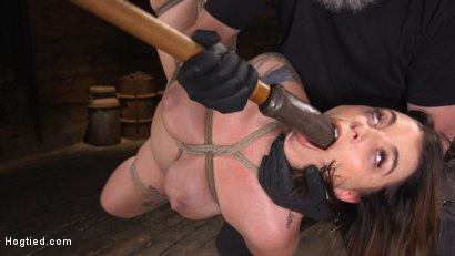 Photo number 14 from Ivy LeBelle: Curvy Slut in Bondage Tormented and Made to Cum shot for Hogtied on Kink.com. Featuring Ivy LeBelle in hardcore BDSM & Fetish porn.