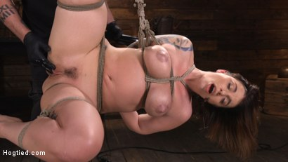 Photo number 15 from Ivy LeBelle: Curvy Slut in Bondage Tormented and Made to Cum shot for Hogtied on Kink.com. Featuring Ivy LeBelle in hardcore BDSM & Fetish porn.