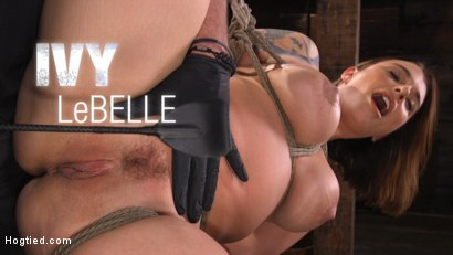Ivy LeBelle: Curvy Slut in Bondage Tormented and Made to Cum