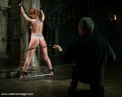 Photo number 7 from Scarlett Pain is Introduced to Waterbondage! shot for Water Bondage on Kink.com. Featuring Scarlett Pain in hardcore BDSM & Fetish porn.