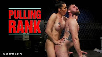 Pulling Rank: Dirty Hot Cop Melanie Brooks Fucks Evidence Room Boy