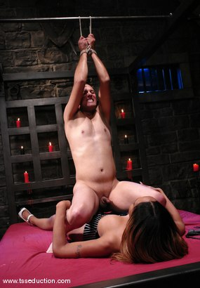 Photo number 8 from Sexy Jade and Steven Garcia shot for TS Seduction on Kink.com. Featuring Sexy Jade and Steven Garcia in hardcore BDSM & Fetish porn.