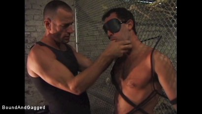 Photo number 14 from Boy On Tap: And for Men Who Take Them shot for Bound And Gagged on Kink.com. Featuring Steve Ross, Aaron Parker and Jason Branch in hardcore BDSM & Fetish porn.