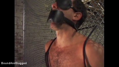 Photo number 16 from Boy On Tap: And for Men Who Take Them shot for Bound And Gagged on Kink.com. Featuring Steve Ross, Aaron Parker and Jason Branch in hardcore BDSM & Fetish porn.