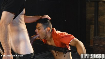 Photo number 19 from Helpless Boys - Rodrigo - Dumped Then Dominated shot for FetishNetwork Male on Kink.com. Featuring Rodrigo and Todd Haynes in hardcore BDSM & Fetish porn.