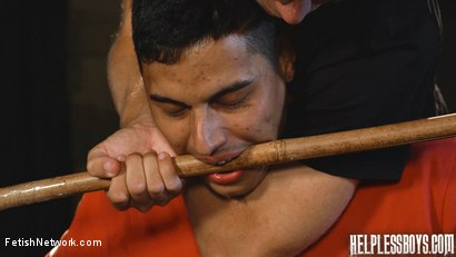 Photo number 20 from Helpless Boys - Rodrigo - Dumped Then Dominated shot for FetishNetwork Male on Kink.com. Featuring Rodrigo and Todd Haynes in hardcore BDSM & Fetish porn.