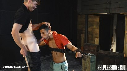 Photo number 22 from Helpless Boys - Rodrigo - Dumped Then Dominated shot for FetishNetwork Male on Kink.com. Featuring Rodrigo and Todd Haynes in hardcore BDSM & Fetish porn.