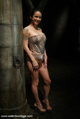 "Photo number 1 from Nadia Styles is ""Stylin"" in Plastic Bondage shot for Water Bondage on Kink.com. Featuring Nadia Styles in hardcore BDSM & Fetish porn."
