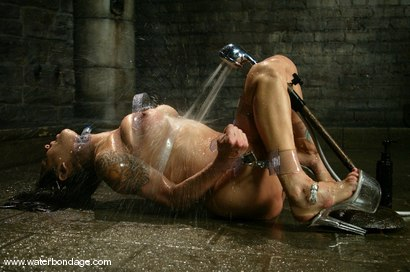 "Photo number 7 from Nadia Styles is ""Stylin"" in Plastic Bondage shot for Water Bondage on Kink.com. Featuring Nadia Styles in hardcore BDSM & Fetish porn."