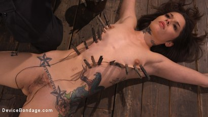 Photo number 12 from Vanessa Vega: Fresh Meat Lays It All On The Line shot for Device Bondage on Kink.com. Featuring Vanessa Vega in hardcore BDSM & Fetish porn.